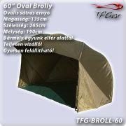 846991d2c4a3 TF Gear 60 Oval Brolly - Félsátras ernyõ