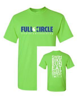 Ladies FCC Short Sleeve Green Tee