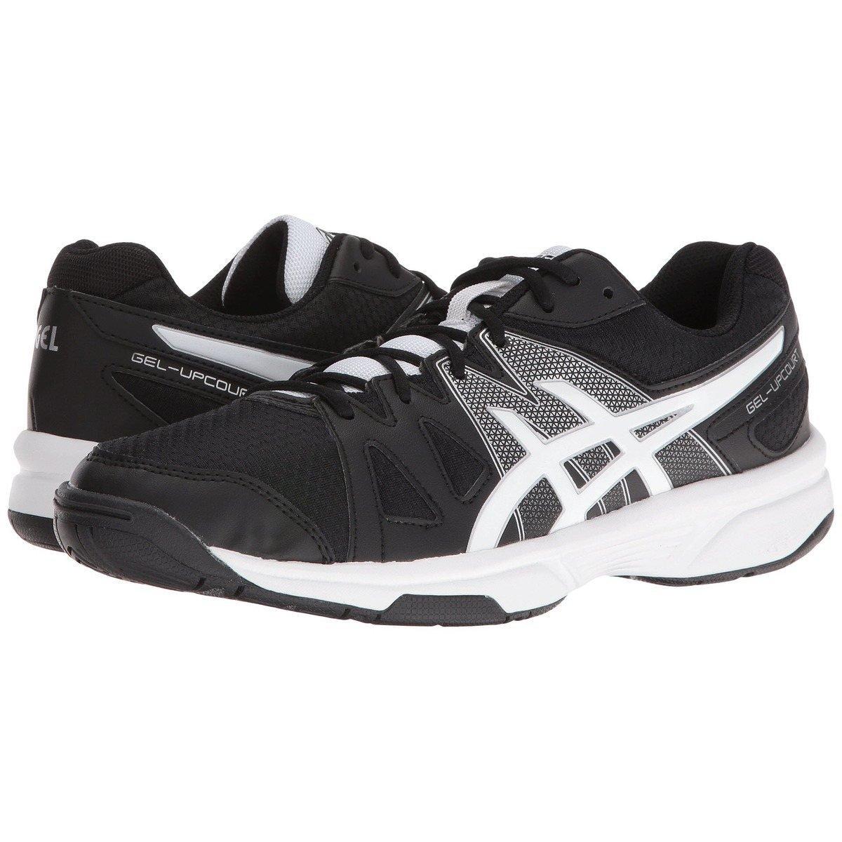 Asics - Gel Upcourt - Men's - Court Shoes - Black/White/Silver 12886(base)