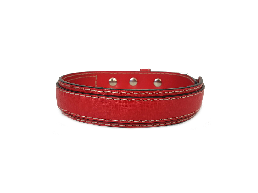 Rosso laserato / Lasered red (3 cm / 1,18 inches)