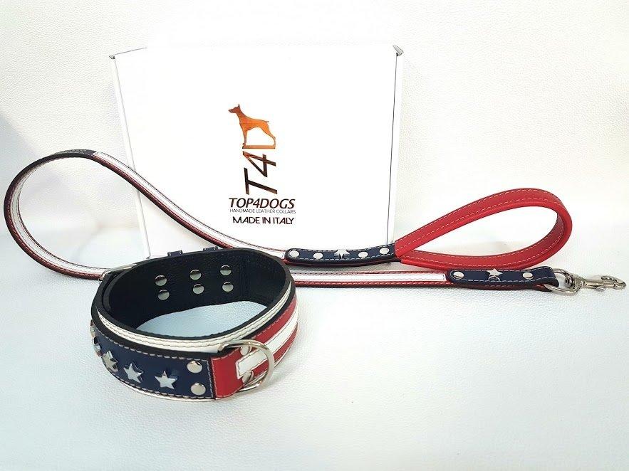 Kit Americano. Altezza collare 6 cm / collar height 2,36 in