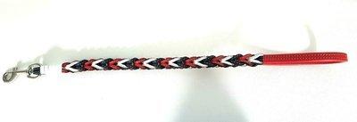 Guinzaglio a treccia  80 cm (f.white)/ Braided leash 31,50 inches