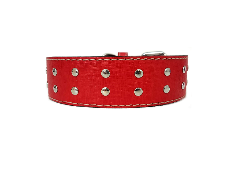 Rosso laserato / Lasered red (4cm/ 1,57 inches)