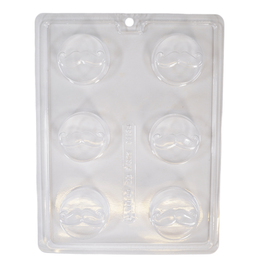 Mustache Cookie Chocolate Mold