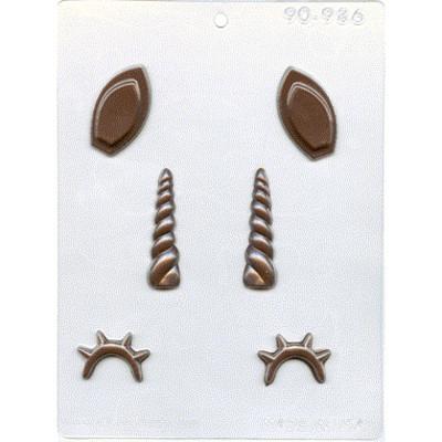 Unicorn Asst. Chocolate Mold