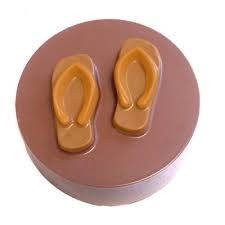 Flip Flop Cookie Chocolate Mold
