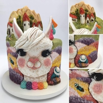 Llama Cake Class with Chef Vanessa Greeley; September 2019 TBA