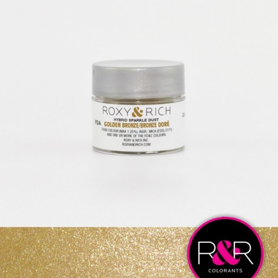 R&R Hybrid Sparkle Dust Golden Broze