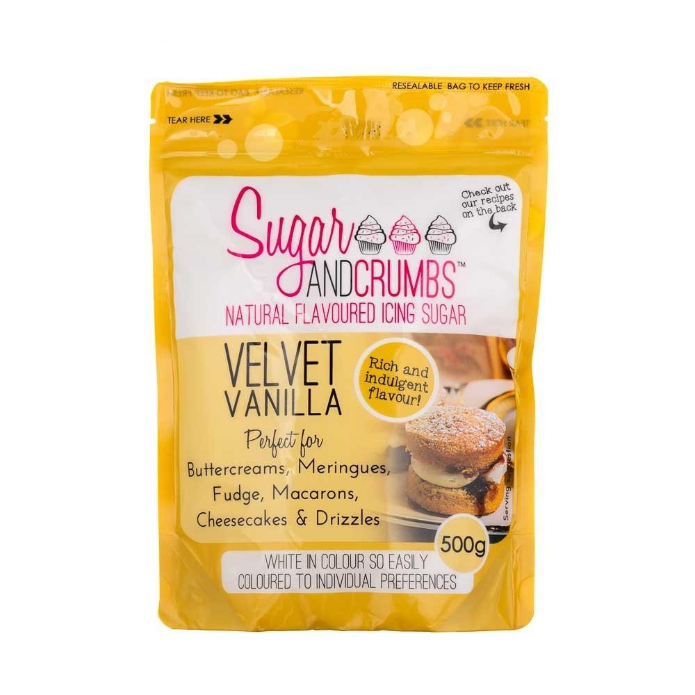 Velvet Vanilla Icing Sugar