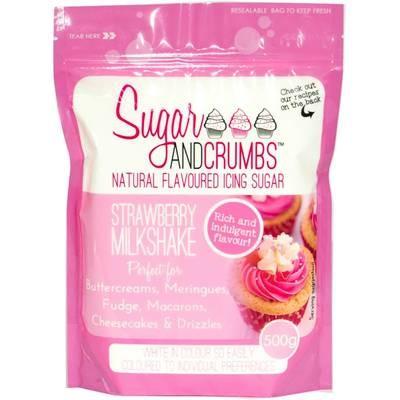 Strawberry Milkshake Icing Sugar