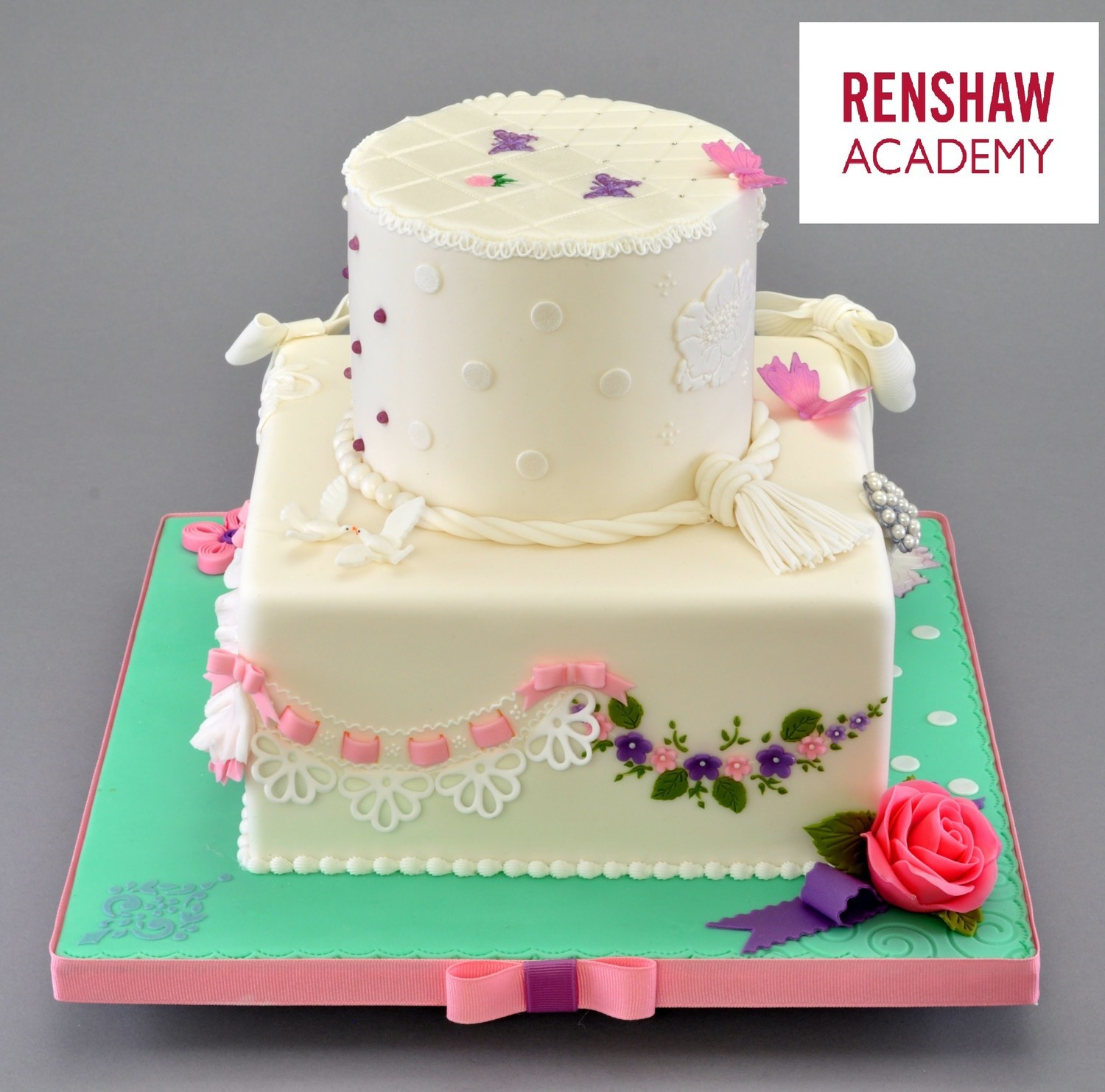 SOLD OUT!!! RENSHAW ACADEMY CERTIFICATION, Module 2; SUGARPASTE (FONDANT) JUNE 21-23 2019 3 Intensive Days To Know Everything To Handle Fondant With The Once On Only Nicholas Lodge At TSCS