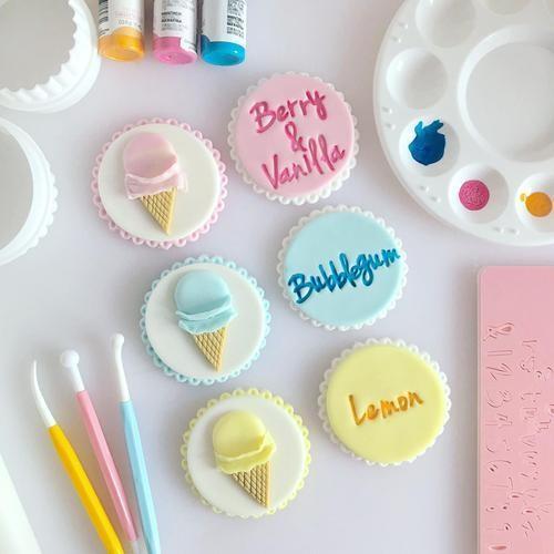 Sweet Stamp VANILLA Cookie Set All Inclusive set