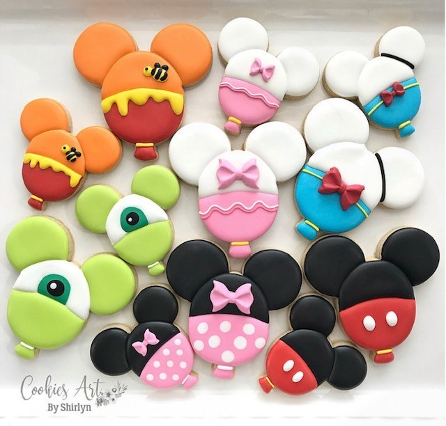 SOLD OUT!!! Characters Ballons Cookie Workshop By Shirlyn Leong, Sunday July 7 from 11-12 ONLY $30 per participant! Registration in Close!