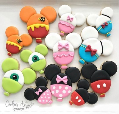 Characters Ballons Cookie Workshop By Shirlyn Leong, Sunday July 7 from 11-12 ONLY $30 per participant! Register NOW!!
