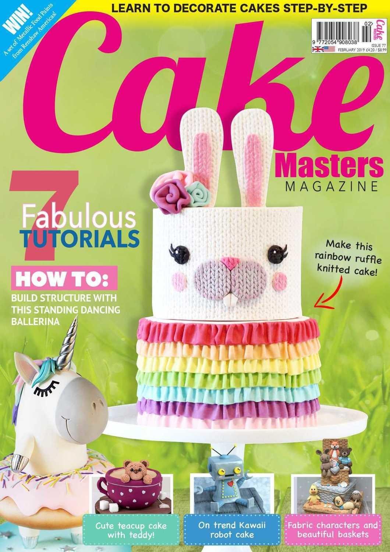 Cake Masters Magazine FEB 2019 Issue 77