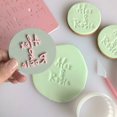 Sweet Stamp Vanilla Set (Lowercase, Uppercase, Numbers, and Symbols)