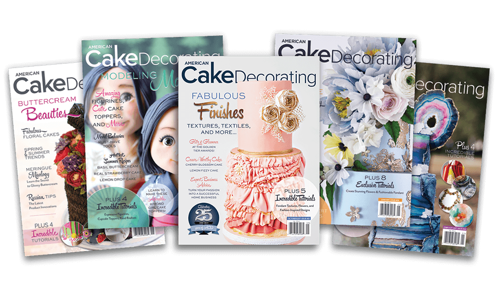 NEW! American Cake Decorating Magazine