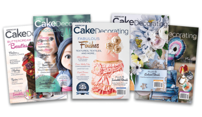 NEW! American Cake Decorating Magazine