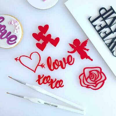 Sweet Stamp Love Elements