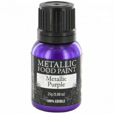 Rainbow Dust Metallic Food Paint Purple