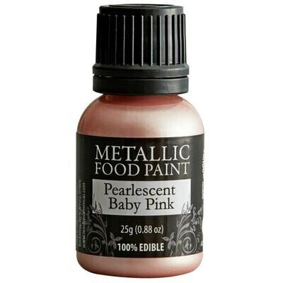 Rainbow Dust Metallic Food Paint Baby Pink
