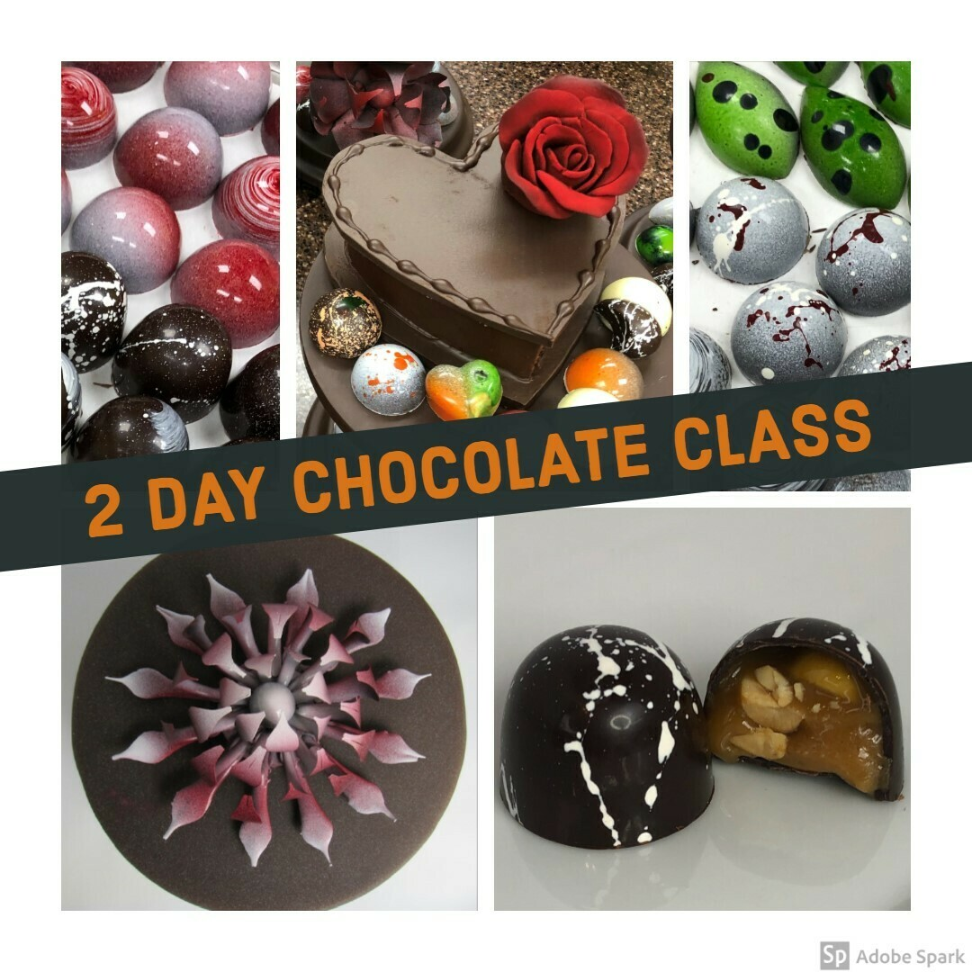 CANCELED!  The 2 DAY Intro to Chocolate with Chef Cumm on September 21st-22nd.