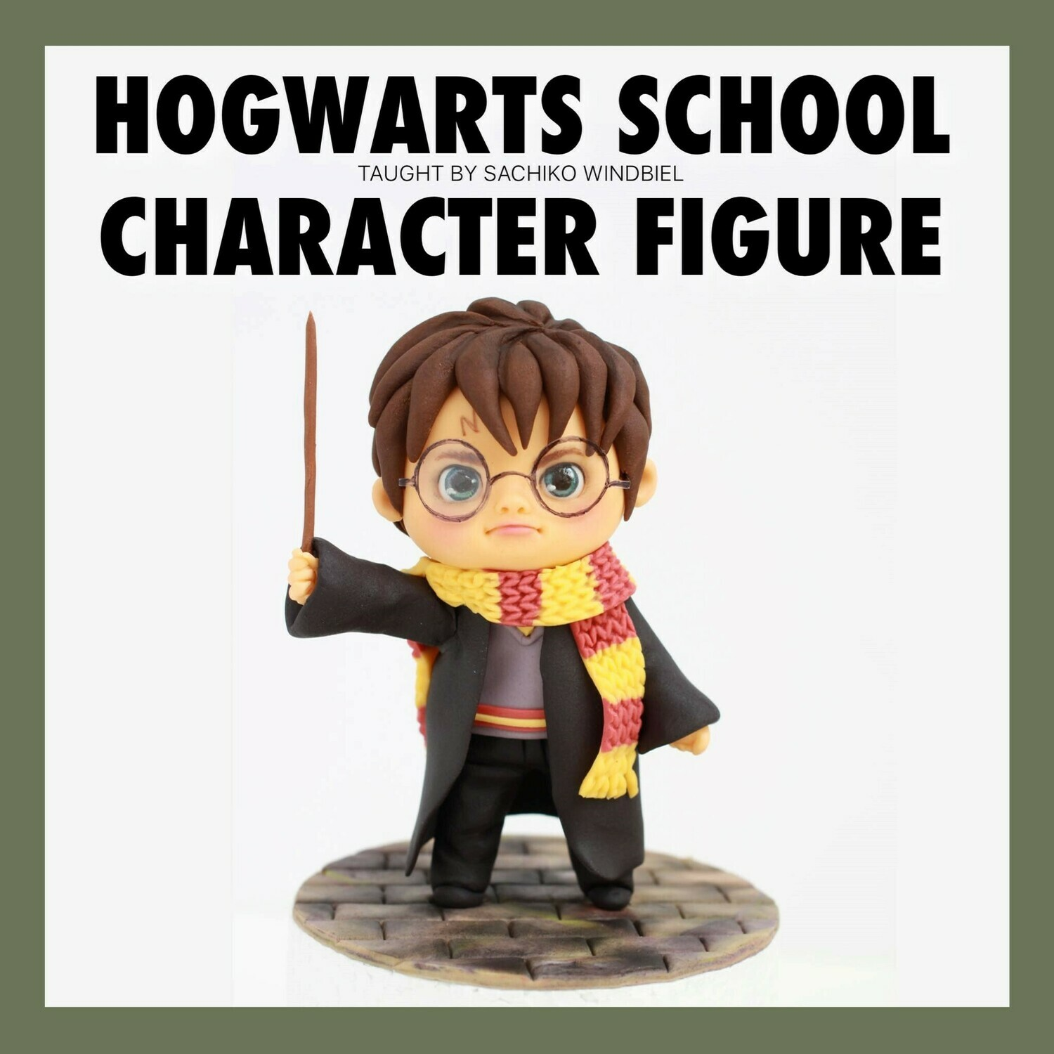 MODELING CLASS: Harry Potter Figure Class with Sachiko Windbeil, Saturday, Oct 26th from 2:30 pm to 6:30 pm