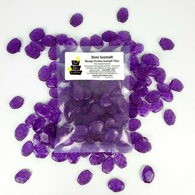 Simi Isomalt Purple