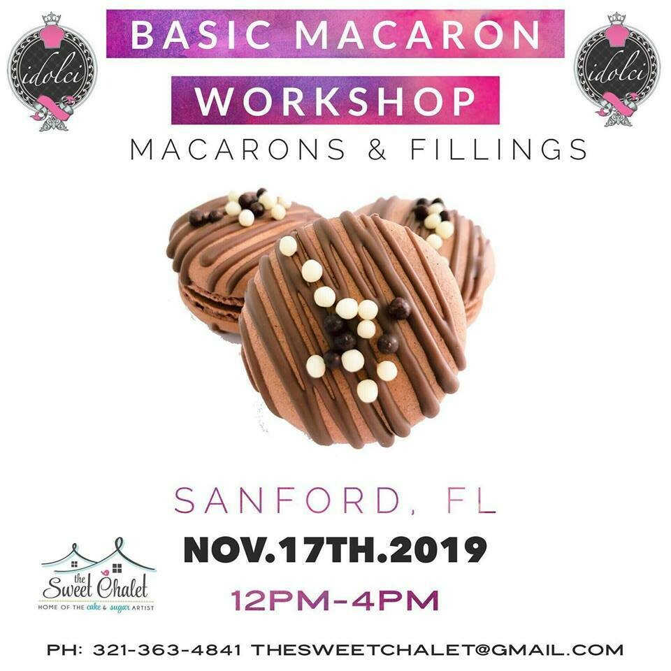 SOLD OUT Basic Macaron Hands-On Workshop #1 with Andi from IDolce. Sunday, NOV 17th from 12 noon to 4:30pm. Only $120 ALL INCLUSIVE!