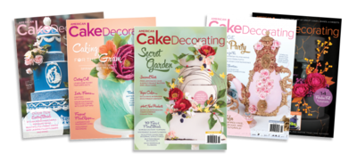 American Cake Decorating Magazine 7 Issue BUNDLE - 6 Magazines + 1 FREE. ALL OF 2019 ISSUES!!