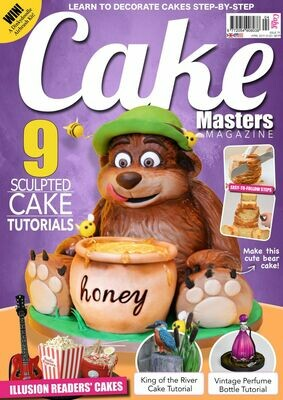 Cake Masters Magazine 6 Issue Black Friday Bundle! Includes NEW December issue