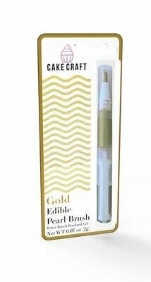 Gold Edible Pearl Brush-Pen  2g