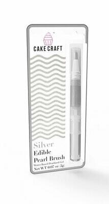 Silver Edible Brush-Pen by Cake Craft, USA