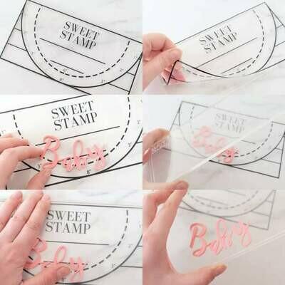 CLEAR SweetStamp PickUpPad *NEW