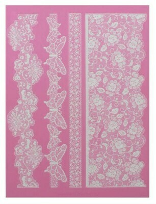 Cake Lace Madame Butterfly Lace Mat