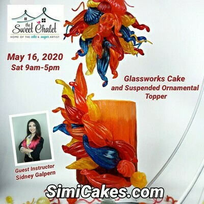 Isomalt GlassWorks Cake & Topper Class NEW DATE JUNE