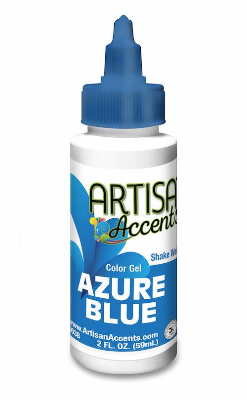 AA Azure Blue Gel