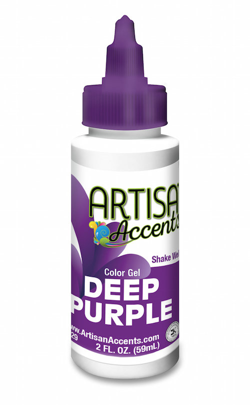 AA Deep Purple Gel