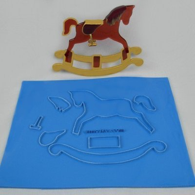 Simi Sculpture Kit Rocking Horse