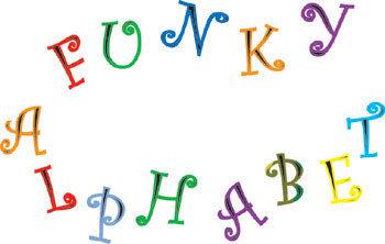 FMM Funky Alphabet + Numbers UC