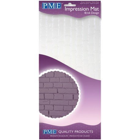 PME Brick Impression Mat