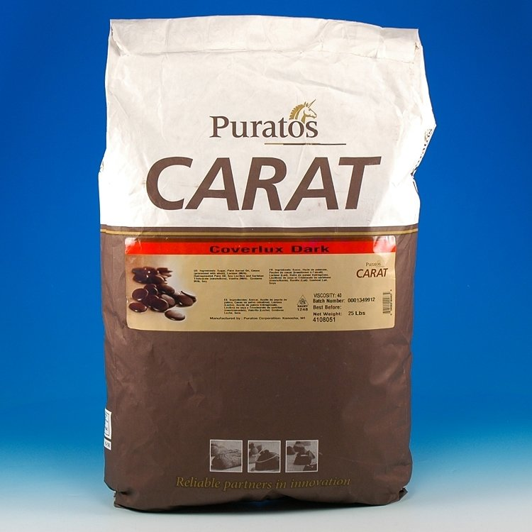 Puratos Carat Dark Chocolate 1lb