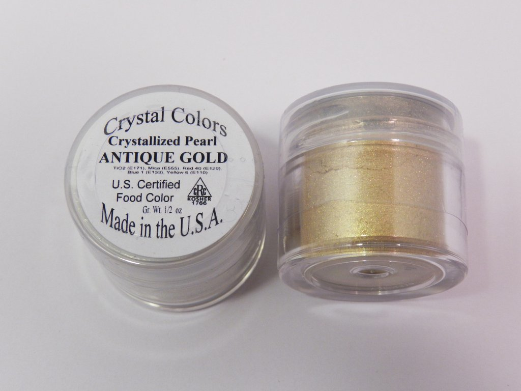 Crystal Colors Antique Gold