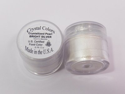 Crystal Colors Bright Silver