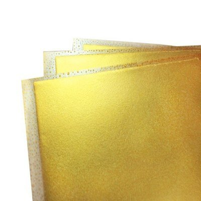 Flexifrost Gold Shimmer Edible Fabric Sheets (3 per pack)
