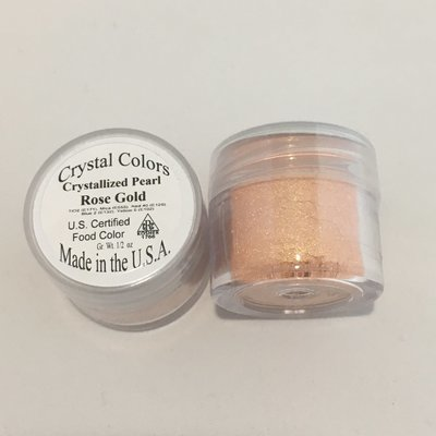 Crystal Colors Rose Gold