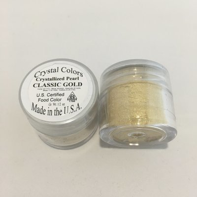 Crystal Colors Classic Gold