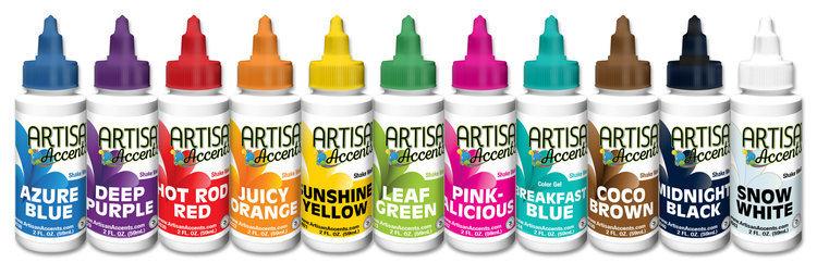 Artisan Accents Gel Color Complete Set (11 Colors Total)