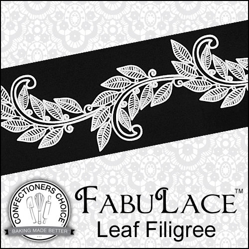 FabuLace Mat Leaf Filigree