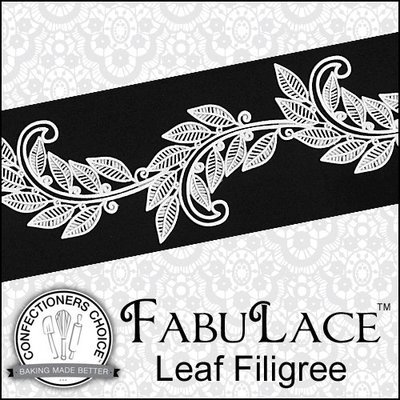 FabuLace Mat Leaf Filigree
